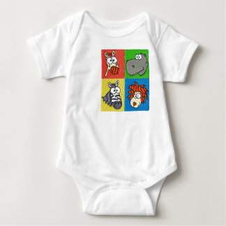 Zoo Animals Infant & Toddler Baby Bodysuit