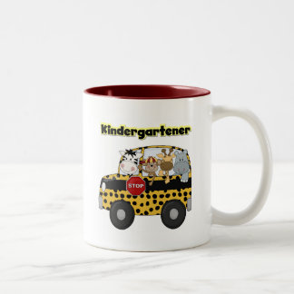 Zoo Animals Kindergartener Coffee Mugs
