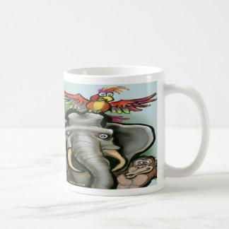 Zoo Animals Classic White Coffee Mug