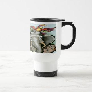 Zoo Animals 15 Oz Stainless Steel Travel Mug
