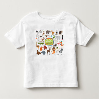 Zoo Animals Toddler T-Shirt