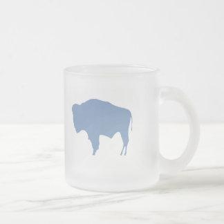 Zoo BUFFALO Frosted Glass Mug