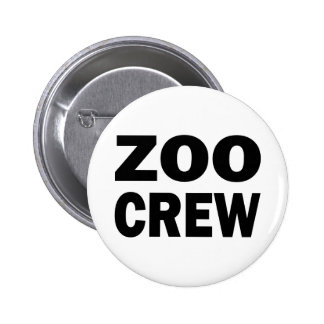 ZOO CREW 6 CM ROUND BADGE