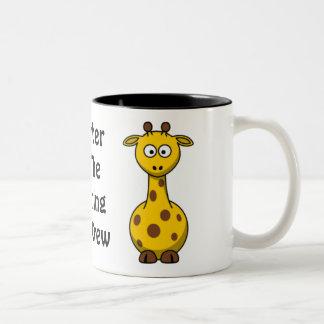Zoo Crew Giraffe Two-Tone Mug