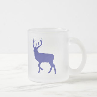 Zoo DEER Frosted Glass Mug