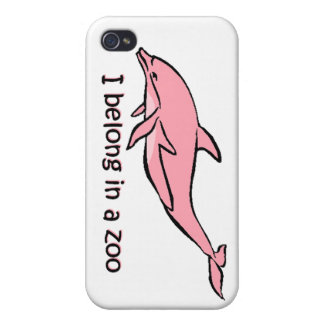 Zoo Dolphin Case For iPhone 4