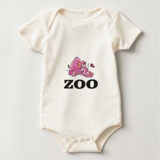 zoo elephant gag baby bodysuit