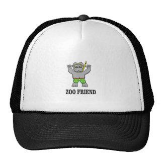 zoo friend hippo cap