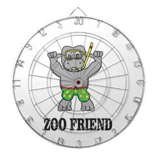 zoo friend hippo dartboards