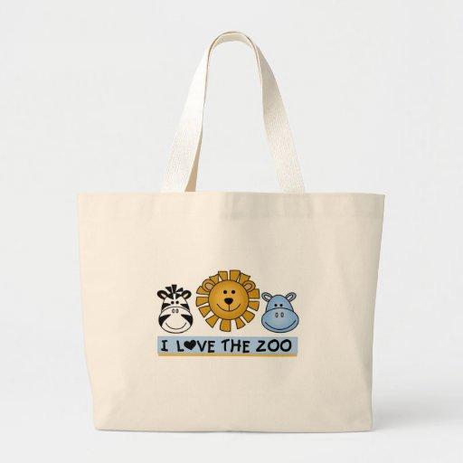 Zoo Friends Tote Bags