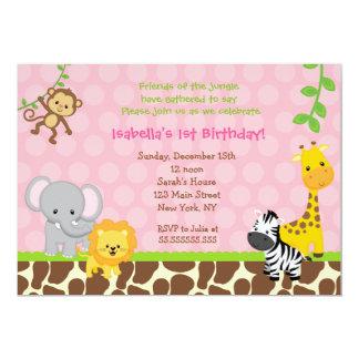 Jungle Birthday Invitations Announcements Zazzlecomau