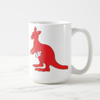 Zoo KANGAROO Basic White Mug