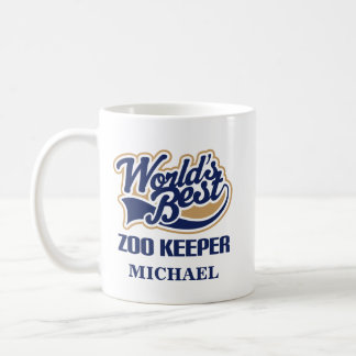 Zoo Keeper Personalized Mug Gift