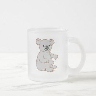 Zoo KOALA Frosted Glass Mug