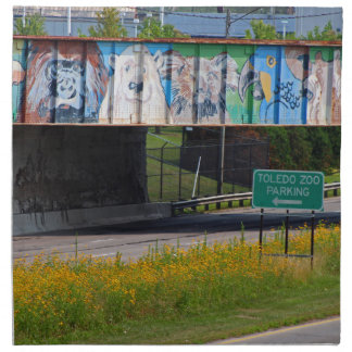Zoo Mural Napkins