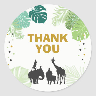 Zoo Party Favor Tags Safari thank you tags Jungle