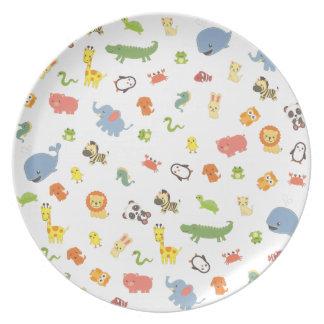 Zoo Plate