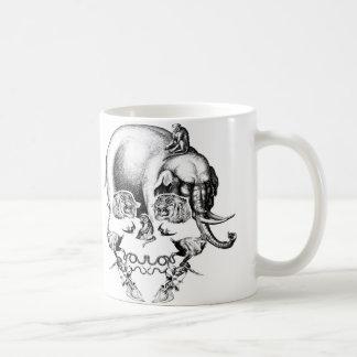 ZOO SKULL COFFEE MUG