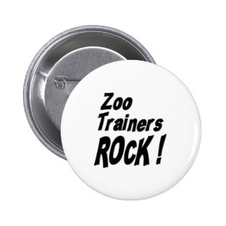 Zoo Trainers Rock! Button