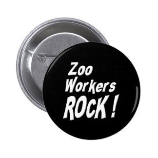 Zoo Workers Rock! Button