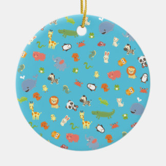 ZooBloo Ceramic Ornament