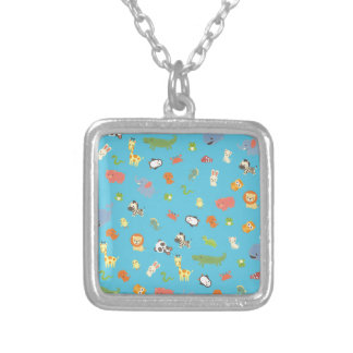 ZooBloo Silver Plated Necklace