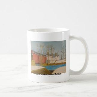 Zook's Mill Covered Bridge - Lancaster Basic White Mug