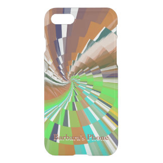 Zoom Exciting Abstract with Your Name or Text iPhone 7 Case