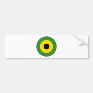 Zooming on Jamaica Bumper Sticker
