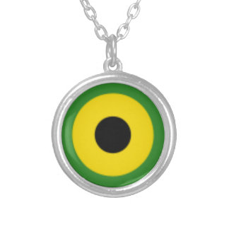 Zooming on Jamaica Silver Plated Necklace