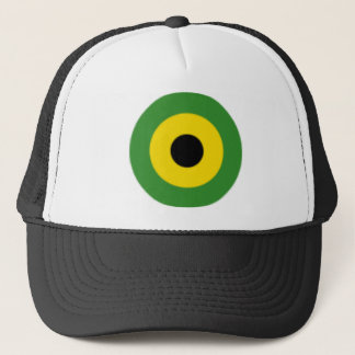 Zooming on Jamaica Trucker Hat