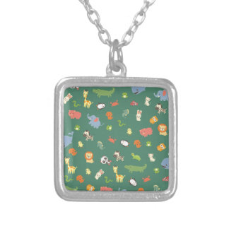 ZooZuu Silver Plated Necklace