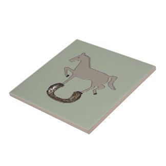 Zorba Horseshoe Ceramic Tile