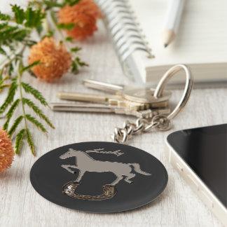 Zorba Horseshoe Key Ring