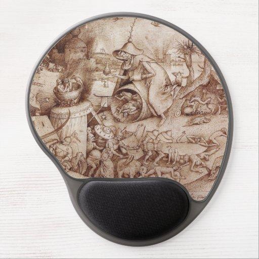 Zorn (Anger) by Pieter Bruegel the Elder Gel Mousepads