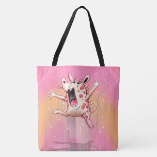 ZOUPPAYA ALIEN  All-Over-Print Tote Bag, Large