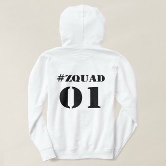 #ZQUAD Hooded Sweatshirt
