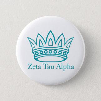 ZTA Crown with ZTA 6 Cm Round Badge