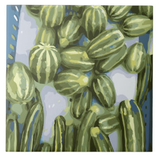Zucchini and Winter Squash Harvest Tiles