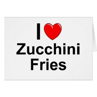Zucchini Fries Card