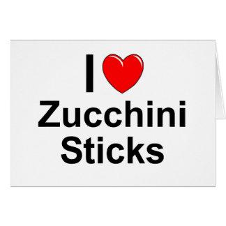 Zucchini Sticks Card