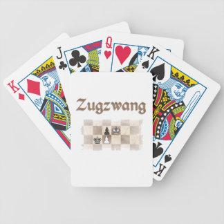 Zugzwang 4000 bicycle playing cards