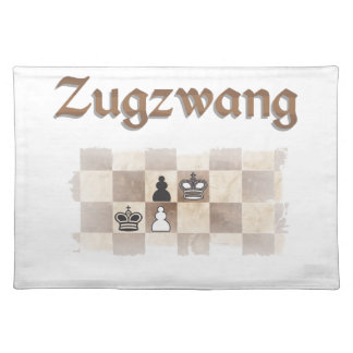 Zugzwang 4000 placemat