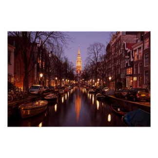 Zuiderkerk in Amsterdam Netherlands Poster