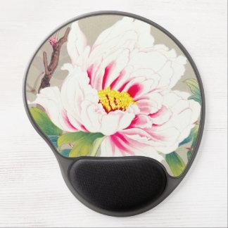Zuigetsu Ikeda Pink Camellia japanese flower art Gel Mouse Pad