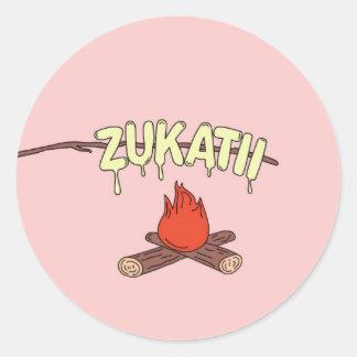 Zukatii MARSH Sticker