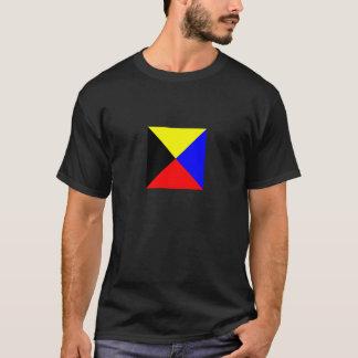 Zulu Flag Dark-Colored Shirt