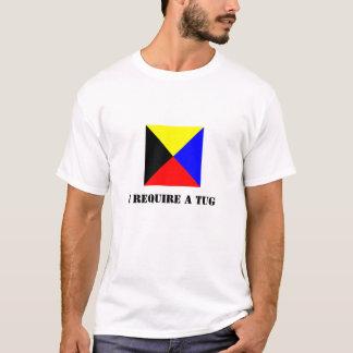 Zulu Flag (Z Flag) Light-Colored Shirt