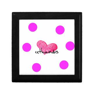 Zulu Language of Love Design Gift Box