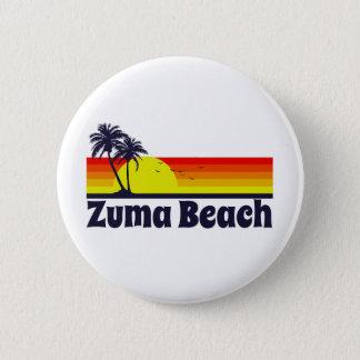 Zuma Beach 6 Cm Round Badge